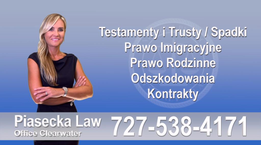 Prawo Imigracyjne, Prawo, Imigracyjne, Polski, Prawnik, Adwokat, Floryda, USA, Florida, Polish, Attorney, Lawyer, Agnieszka Piasecka, Aga Piasecka, Piasecka