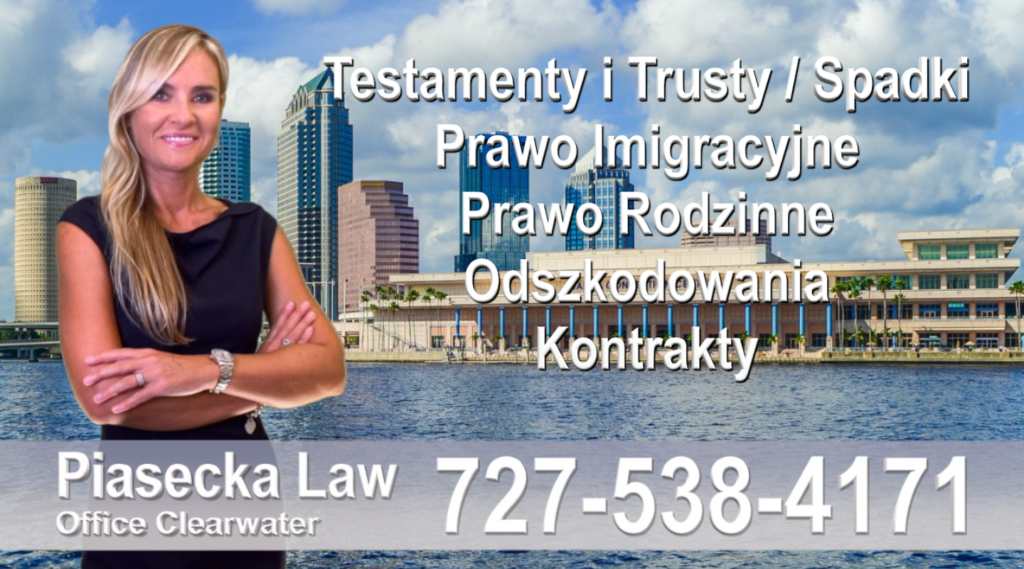 Tampa, Tampa, Bay, Florida, Polish, Attorney, Lawyer, Polski, Prawnik, Adwokat, Floryda, USA, Agnieszka Piasecka, Aga Piasecka, Piasecka